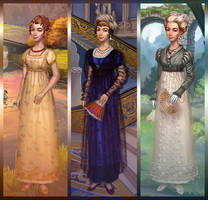 Dress Up Regency Bella by dolldivine