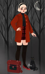 Sabrina's Witchy Wardrobe
