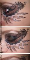 Native Feather Eyes