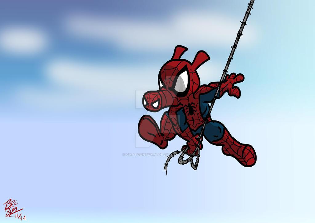 Spider-Ham by Cartoonboy76