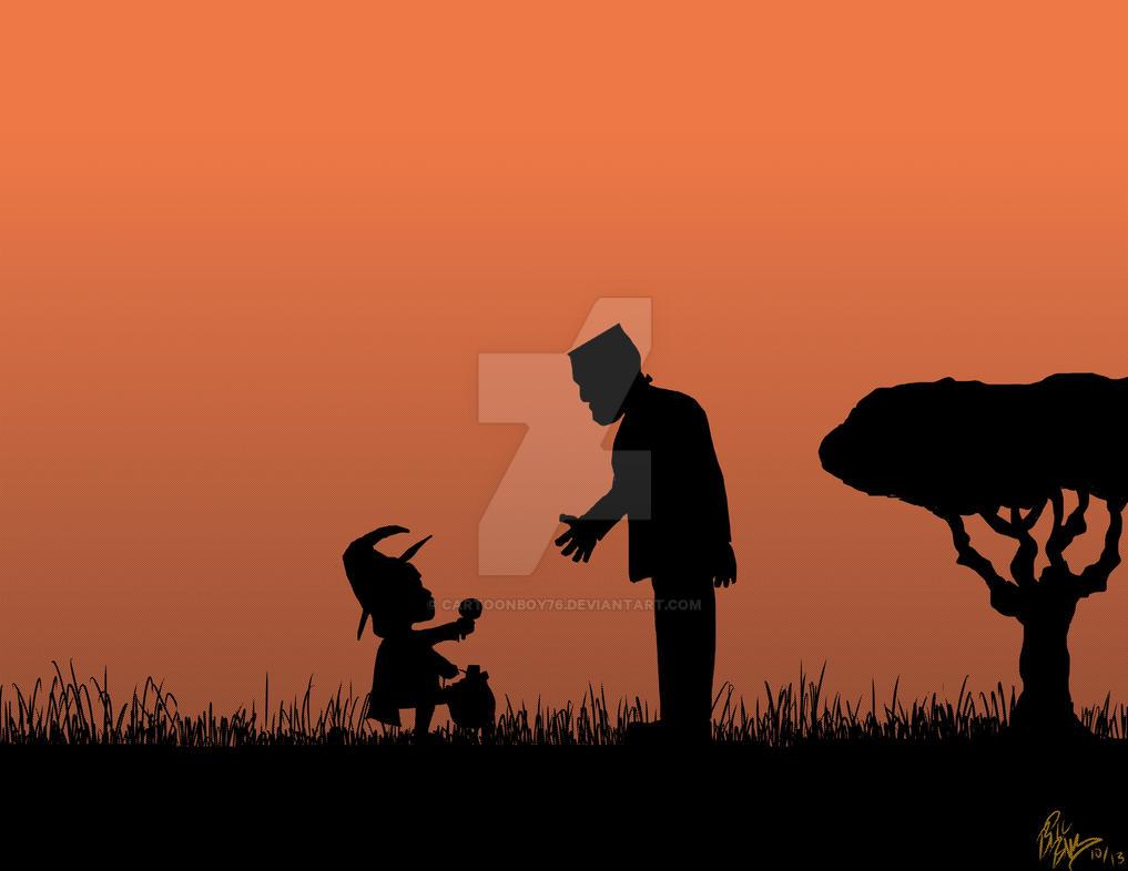 Halloween Field by Cartoonboy76