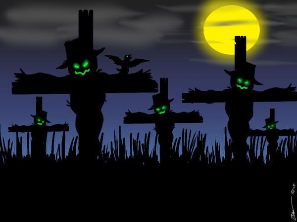 Scarecrows by Cartoonboy76