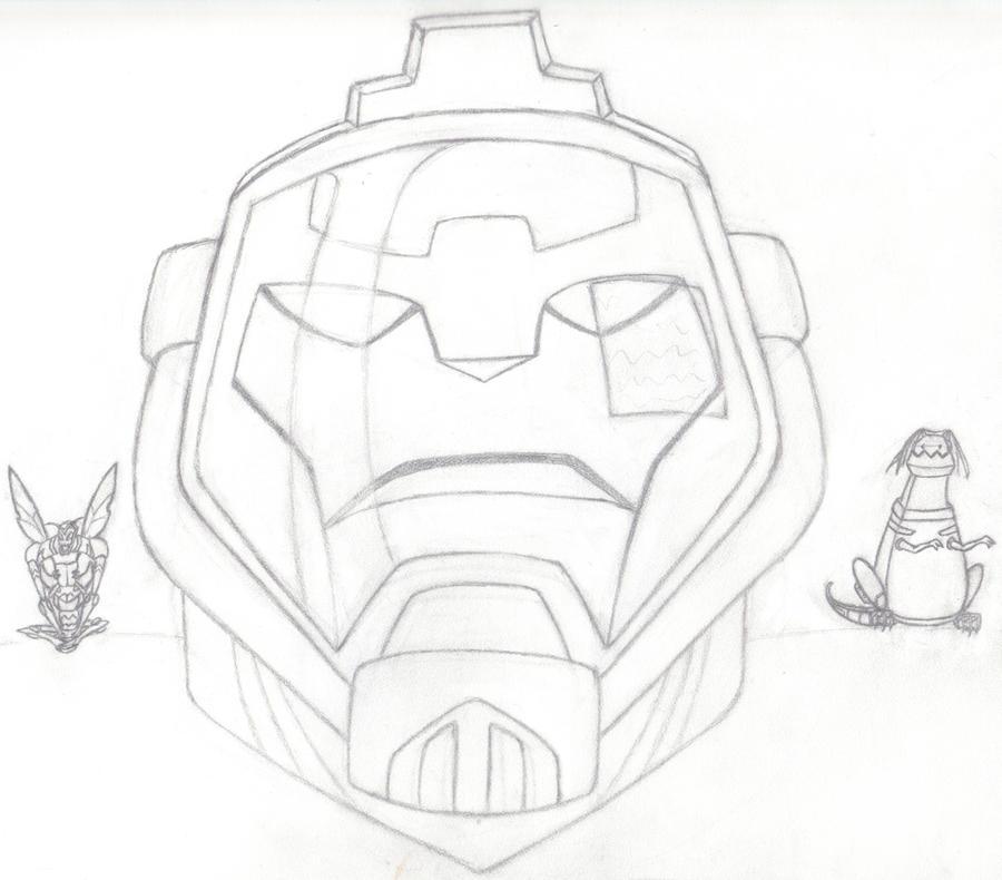 3 Kings Line Art by StrangersLight