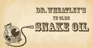 Wheatley's Snake Oil Sign