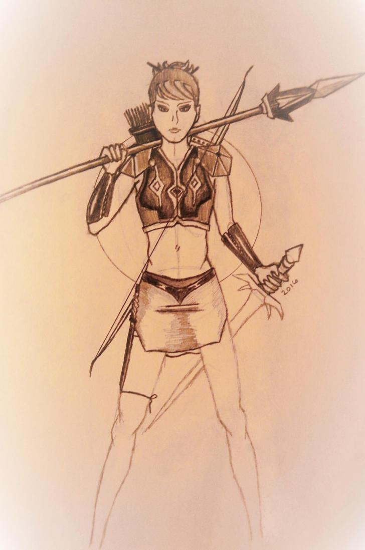 Amazon Warrior by maxpinkie