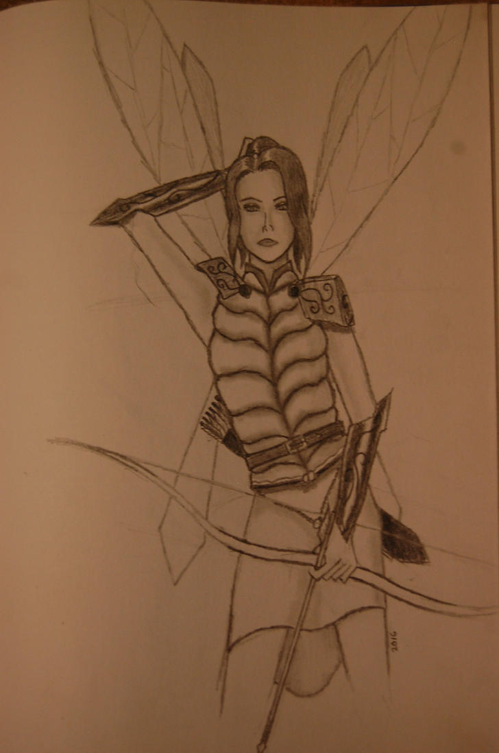 Fairy Warrior by maxpinkie
