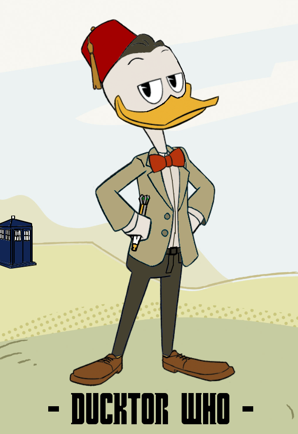 Ducktor Who - 11th Ducktor by JStCPatrick