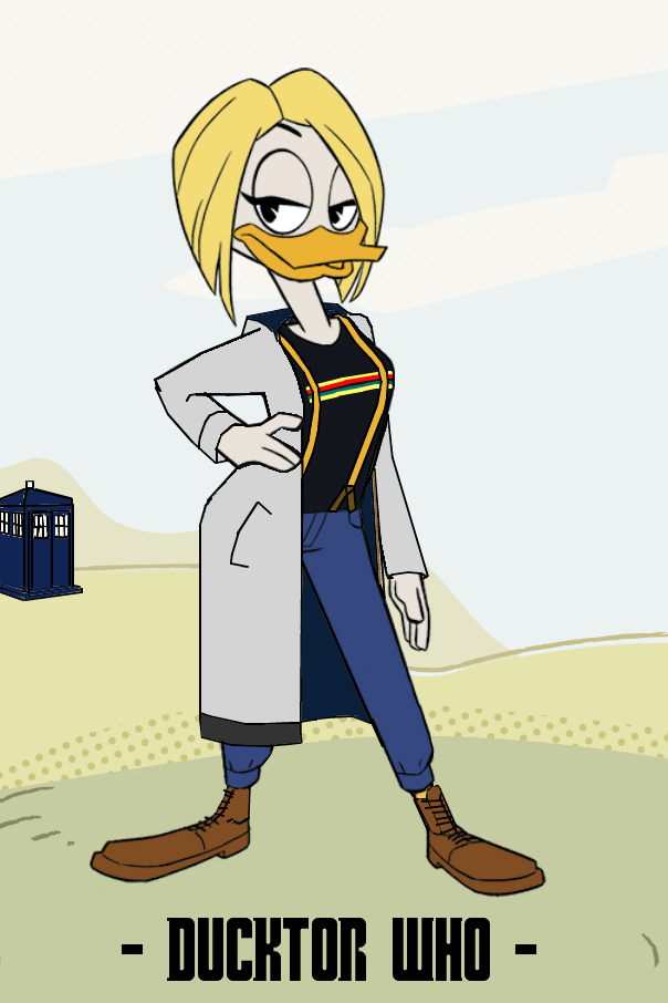 Ducktor Who - 13th Ducktor by JStCPatrick