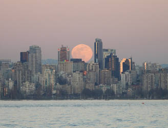 Full Worm Super Moon No2 by JStCPatrick