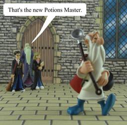 Harry Potter - The New Potions Master by JStCPatrick