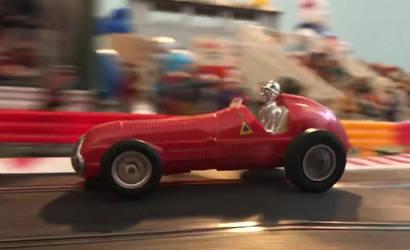 Alfa Romeo 158 at speed by JStCPatrick