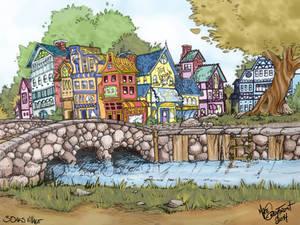 3 Oaks Village