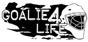 Goalie 4 Life logo WIP