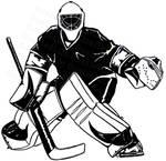 Goalie Black and White