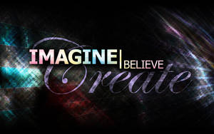 Imagine.believe.create by GoaliGrlTilDeath