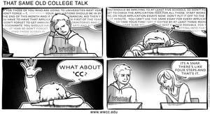 Same Old College Talk by GoaliGrlTilDeath