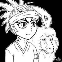 Renji, Snakey, and The Monkey by GoaliGrlTilDeath