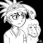 Renji, Snakey, and The Monkey