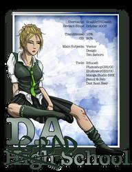 dA GRAD School ID by GoaliGrlTilDeath