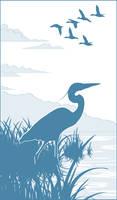 Blue Heron by GoaliGrlTilDeath