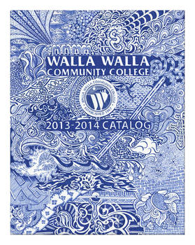 WWCC Catalog Cover 2013-14: Doodle Cover