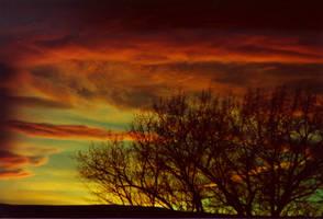 Eastern WA sunset No. 1 by GoaliGrlTilDeath