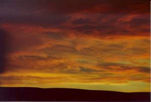 Eastern WA Sunset No. 2 by GoaliGrlTilDeath