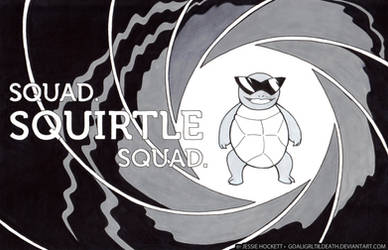Squad. Squirtle Squad. by GoaliGrlTilDeath