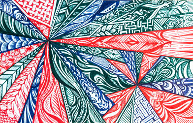 Meeting Doodle- Radial
