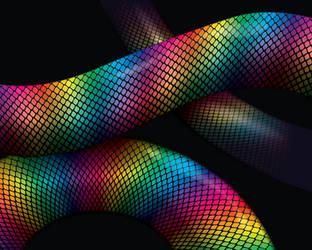 Rainbow Snek: Blend Practice by GoaliGrlTilDeath