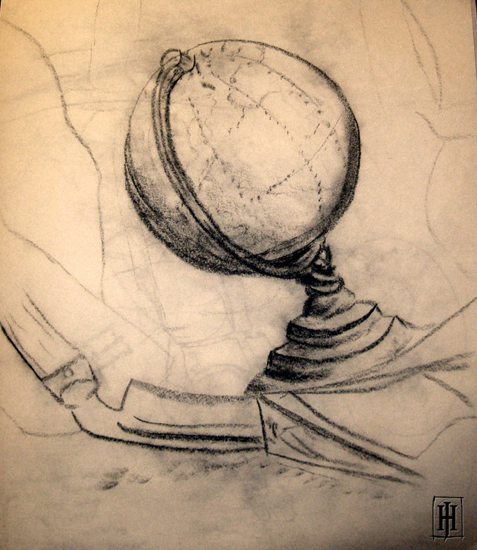 Globe and Sickle by GoaliGrlTilDeath