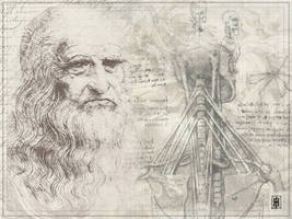 Leonardo Da Vinci by GoaliGrlTilDeath