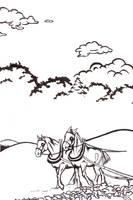 Palouse Plowhorses by GoaliGrlTilDeath