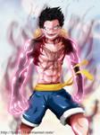 Monkey D. Luffy - Gear Fourth (Slim version)