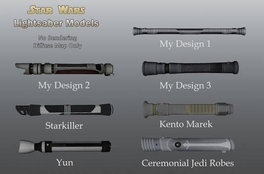 Star Wars Lightsaber Hilts