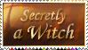 Secretly a Witch Stamp