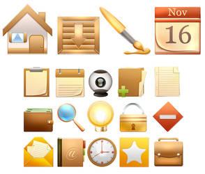 Icons set 1 by Seiorai
