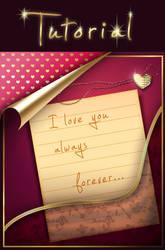 V-day Greeting Card - Tutorial by Seiorai