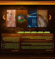 Opposites Portfolio Interface by Seiorai