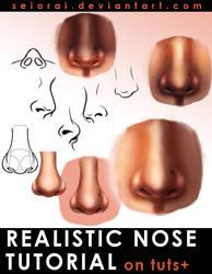 Realistic Nose Tutorial by Seiorai