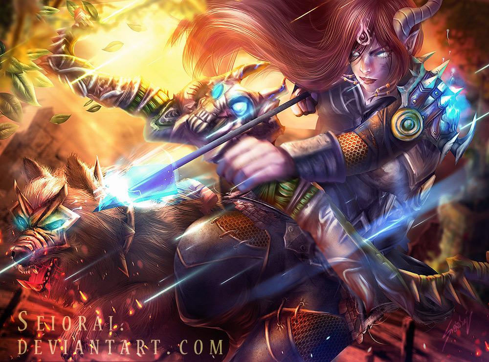 Draenei Hunter by Seiorai