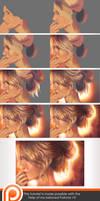 Step by Step - Hair study