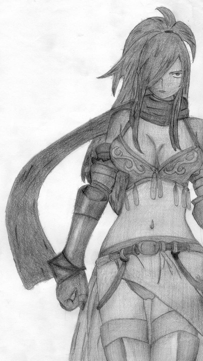 Erza Knightwalker by luuanhen