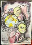 Inktober Day 10: Hope