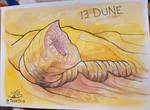 Inktober Day 13: Dune