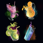 Spooky Smoothies and Juices