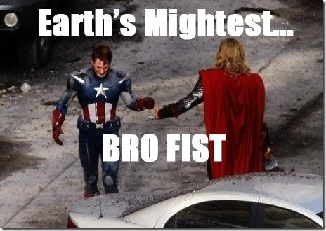 Avengers - Earth's Mightest Bro Fist by TempestPataki