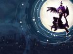 Moon Wallpaper: Amuria Contest by CrackedClockwork