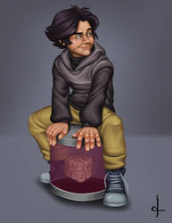 Art Trade - Cato by noblekitsune