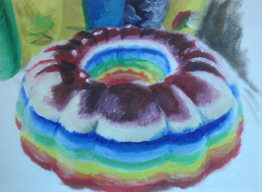 Rainbow Vodka Jello Cake By QuixoticouS On DeviantART